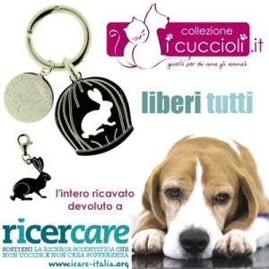 Liberi Tutti, Portachiavi di Collezione i Cuccioli per I Care Italia