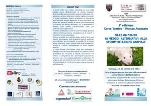 I Care Italia Corso Metodi Alternativi Sperimentazione Animale