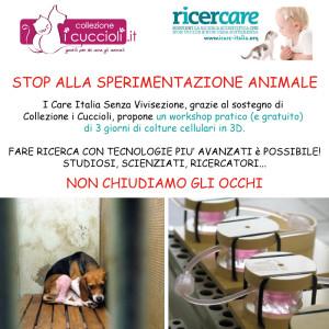 I Care e Collezione i Cuccioli | stop vivisezione