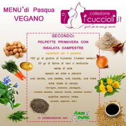 menù pasqua vegano secondo